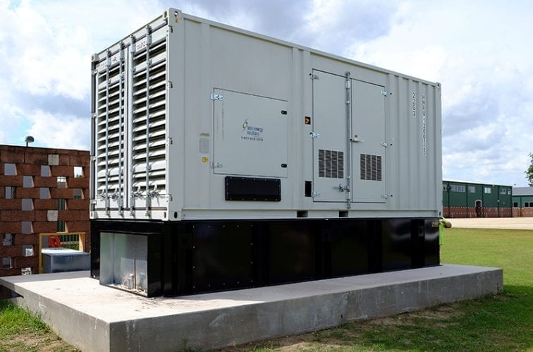Evacuation-Center-Generators-at-Lamar-Dixon-Expo-Center